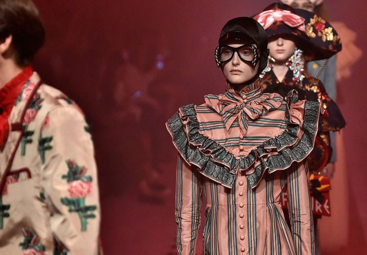 Os destaques do desfile da Gucci