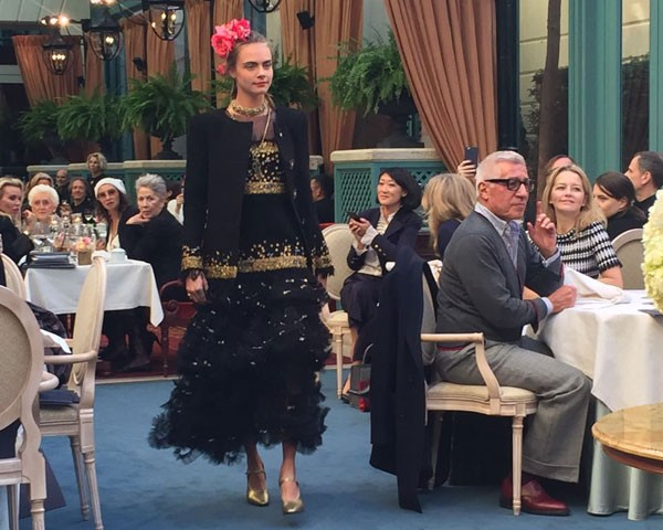 O desfile da Chanel no Ritz